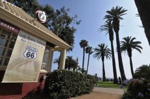 Santa Monica, California: Ende der Route 66.