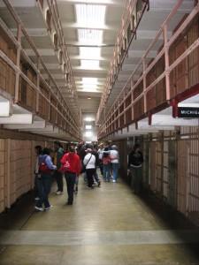 Alcatraz: Zellenblöcke.