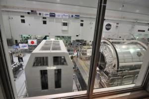 Hier werden die Module der Space Station, der ersten Raumstation der Menschheit, gebaut.