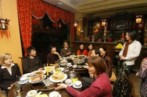 Im Nin Hao, dem besten China-Restaurant Leipzigs, gab es nach dem Konzert eine kleine private Runde mit dem Star des Abends, Lang Lang.
