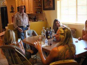 USA Arizona 28.3. - 16.4.2013 13.4.2013 14.4.2013 Hausgast bei SB und Fahrt zum Kino Sonny Barger